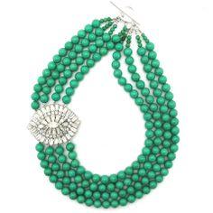 Got My Eye On You necklace by Elva Fields