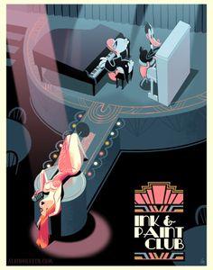 Who Framed Roger Rabbit print.