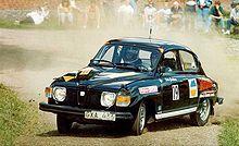 Rallying - Saab 96