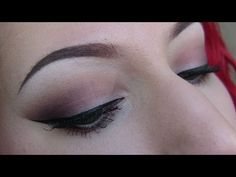 Too Faced Chocolate Bar Palette Tutorial Romantic Eye - YouTube