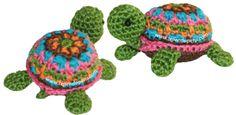 Cómo tejer una tortuga a crochet (amigurumi)