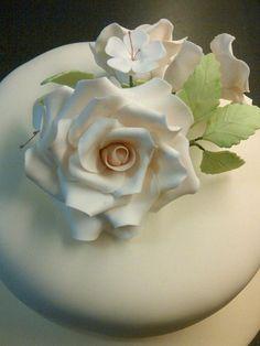 simple rose  - via @Craftsy