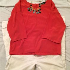 Orange boutique top! From local boutique! Quarter sleeve, comfy and cute :) Boutique Tops Blouses