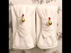 How To Fold Towels and Cloth Napkins for Your Guest Bath Decor ad