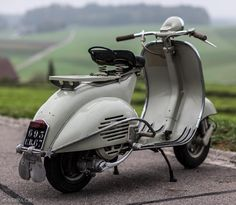 Vespa ACMA 1957 Modèle 125, 4'906 Km, O-Lack, original condition