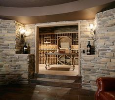 Hidden wine cellar | Plan 071S-0002 | House Plans and More