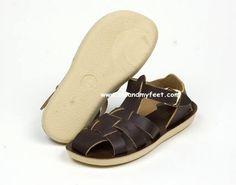 Shark Fisherman Saltwater Sandals Chocolate Brown