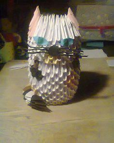 kotek :) origami 3d