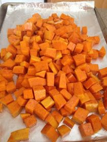 Make with your hands: Cinnamon Roasted Butternut Squash {Whole30}