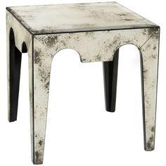 John Richard Mirabella Square Side Table