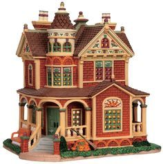 christmas village houses - Google Search
