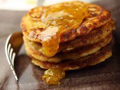 Rahkaletut Flan, Joko, Fodmap Recipes, Pancakes And Waffles, Pastry Cake, Sweet Recipes, Sweet Treats, Deserts, Food And Drink