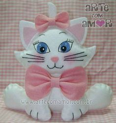 You can start at the pace you want and receive support during the course of the process, finally you will enjoy greater flexibility and economic freedom. Sewing Stuffed Animals, Stuffed Toys Patterns, Cat Crafts, Diy And Crafts, Gata Marie, Finger Puppet Patterns, Christmas Crafts, Christmas Ornaments, Felt Baby