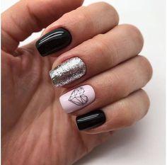 110 best natural short square nails design for Fall 110 best natural short squar… - Nail Style Square Nail Designs, Short Nail Designs, Fall Nail Designs, Acrylic Nail Designs, Acrylic Nails, Cute Nails, Pretty Nails, My Nails, Short Square Nails
