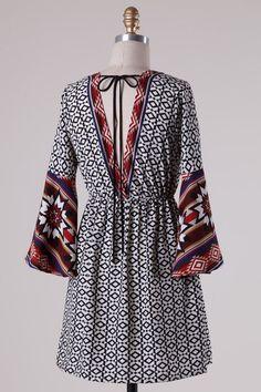 Cayla Dress - Nobella Grace Boutique #nobellagrace #fall2015