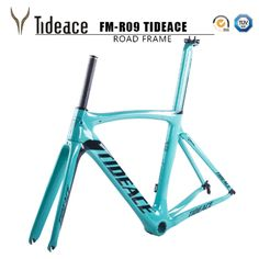 Tideace carbon bike frame bicycle carbon road frameset with fork and accessories V brake chinese carbon frames Bike Frame, Cycling Bikes, Bicycle, Fork, Frames, Chinese, Magic, Watch, Road Bike