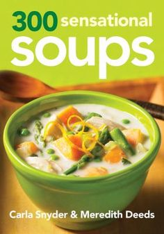 Italian wedding soup and Vietnamese pho are two of the international dishes provided in the colorful collection of three hundred traditional and specialized soup recipes, complete with color photographs, detailed instructions, and practical cooking tips.