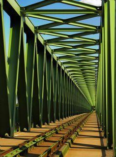 The Bridge on the River Danube