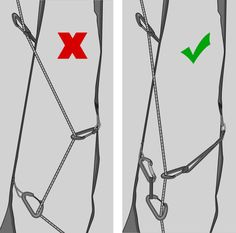 Learn to climb trad: knots, rappelling, and logistics.