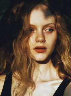 Emma Laird photographed by Chloé le Drezen.