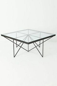 I love all the lines - Origami Coffee Table - Anthropologie.com