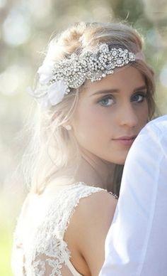 Idea for Bride's Hair