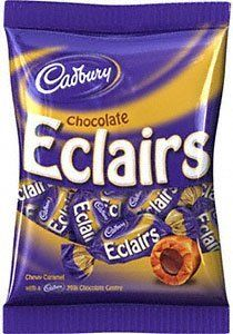 Cadbury Chocolate Eclairs  {LOVE}~Fell in love with these when I was 8 and we have lived happily ever after~
