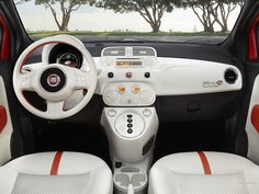Fiat 500e - why can't more car interiors look like this?