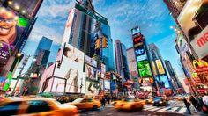 Poster adesivos Nova Iorque Times Square