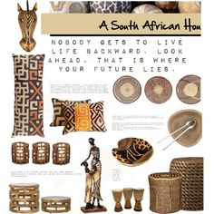 """African Home Decor"" by malussieversii on Polyvore"
