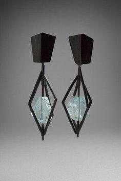 earrings by Daphne Krinos