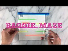 Baggie Maze Easy DIY Game for Kids