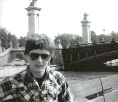 Ian Curtis on his honeymoon in 1975 Joy Division Tattoo, Kevin Curtis, The Bad Seed, Post Punk, Pop Rocks, The St, Personal Photo, New Wave, Cool Bands