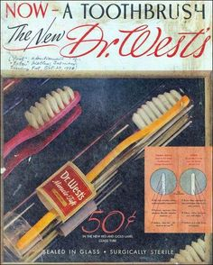 On Feb. 24, 1938, the first nylon bristled toothbrushes went on sale, which meant Americans could finally stop chewing on pig hair.