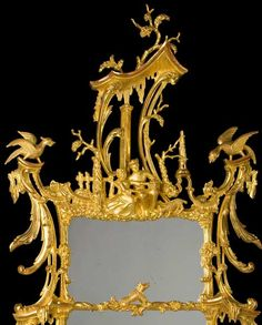 Thomas Johnson George III Mirror . C 1760