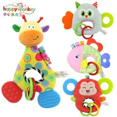 Toys & Hobbies Just 1pcs Plastic Musical Hand Bells Rattles Flower Sunflower Baby Toys Newborn Teether Girls Toys Soft For Children Mobiles Up-To-Date Styling Baby Rattles & Mobiles
