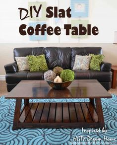 42 DIY Ideas for Coffee Tables to Make You Say Wow! - DIY Projects for Making Money - Big DIY Ideas