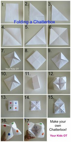 Chatterbox Time! Step by Step instructions:Your Kids OT