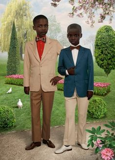 Ruud Van Empel, Sunday #2, (2012) at Stux Gallery