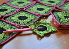 willow granny square