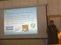 Luleå tech university talking about smart rural regions and crowdsourcing. #CSWArcticCircle