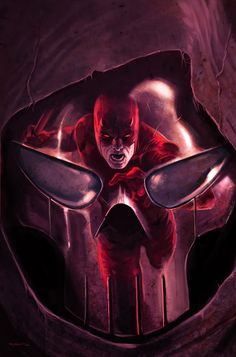 Artwork for cover of Daredevil Vol 2 #105. April, 2008. Art by Marko Djurdjevic.