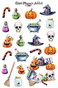 Halloween Illustration, Halloween Drawings, Halloween Clipart, Halloween Stickers, Porche Halloween, Halloween 2017, Halloween Art, Happy Halloween, Halloween Snacks