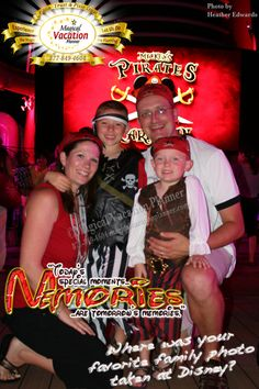 DISNEY MEMORIES! What is your favorite family photo from a Disney park or resort and why is it your favorite? Post that picture if you want to and share your memory in the comments.