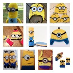 10 FREE Minion Crochet Patterns
