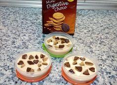CREMA CATALANA CON GALLETAS CON CHOCOLATE Galletas Chocolate, Waffles, Pudding, Breakfast, Desserts, Food, Custard, Eggs, Essen