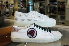 """SAINT LAURENT Sneaker erhalten Sie jetzt in unserer Schuhabteilung """"The 6th Floor"""" im STEFFL Department Store Vienna Department Store, Vienna, Saint Laurent, Yves Saint Laurent"""