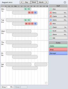 work schedule templates free downloads download links. Black Bedroom Furniture Sets. Home Design Ideas