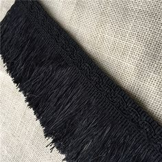 Find More Trimming Information about 3yards size 9.5cm black tassel trimming skirt clothes laciness accessories tassel fringe trims,High Quality fringing trim tassel,China black tassel fringe trim Suppliers, Cheap trim fringe from Life creature Store on Aliexpress.com