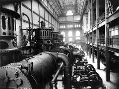 Power Plant Turbine Hall - 1906